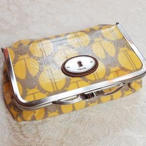 Fossil Key-Per Lady Bug Cosmetic Bag